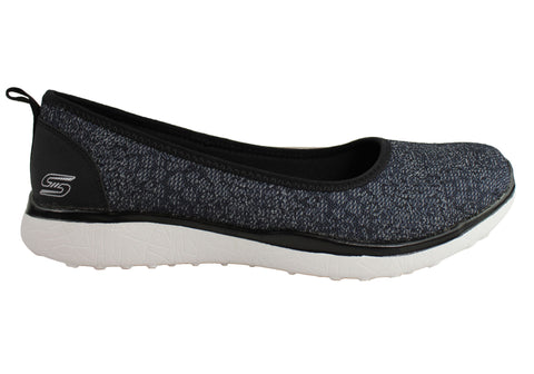 Skechers Microburst Hyped Up Womens Memory Foam Flats
