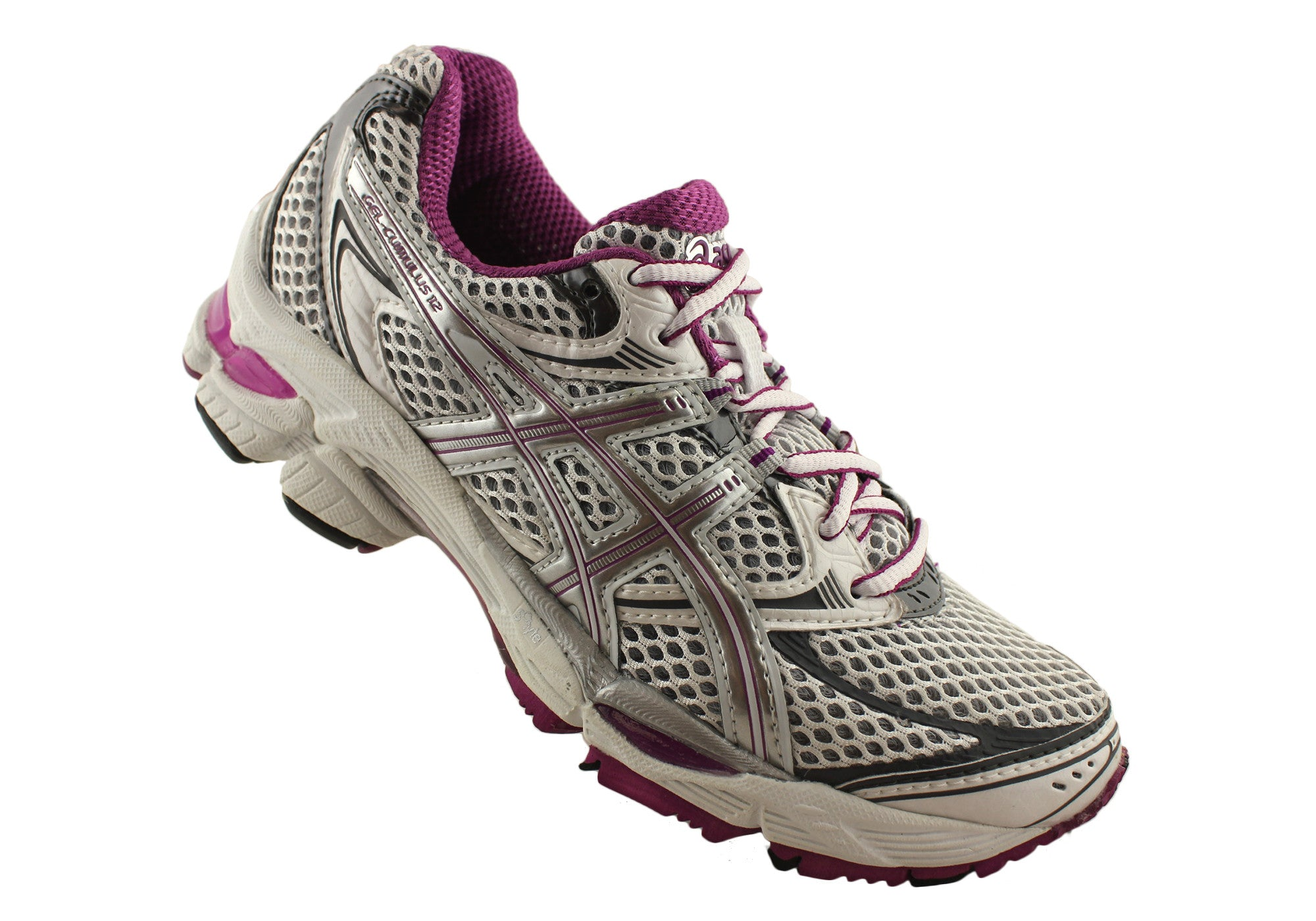 Asics Gel-Cumulus 12 Womens Cushioned Running Sport Shoes