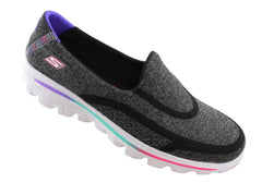 Skechers Go Walk 2 Super Sock Girls/Kids Casual Shoes