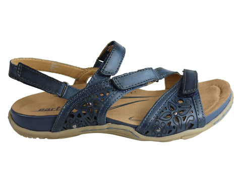 d94c98ba5 Earth Maui Womens Comfortable Supportive Flat Leather Sandals ...