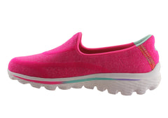 Skechers Go Walk 2 Super Sock Girls/Kids Versatile Casual Shoes