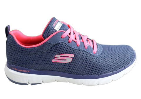 Skechers Womens Flex Appeal 3.0 First Insight Comfy Memory Foam Shoes