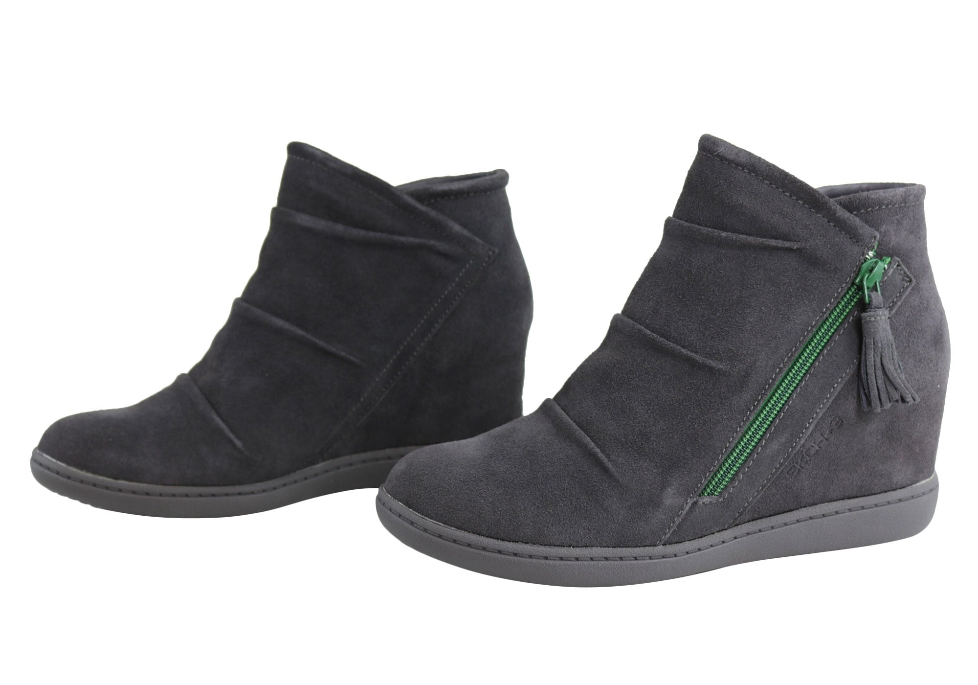 skechers plus 3 ankle boots