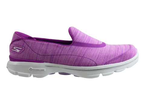 Skechers Womens Go Walk 3 Adorn Comfortable Slip On Shoes
