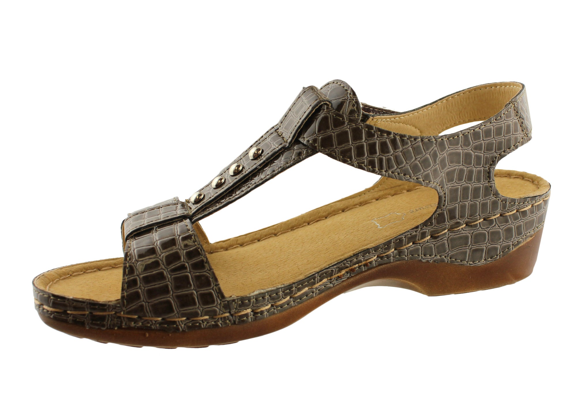 Comfort Leisure Zoe Womens Comfort Sandals