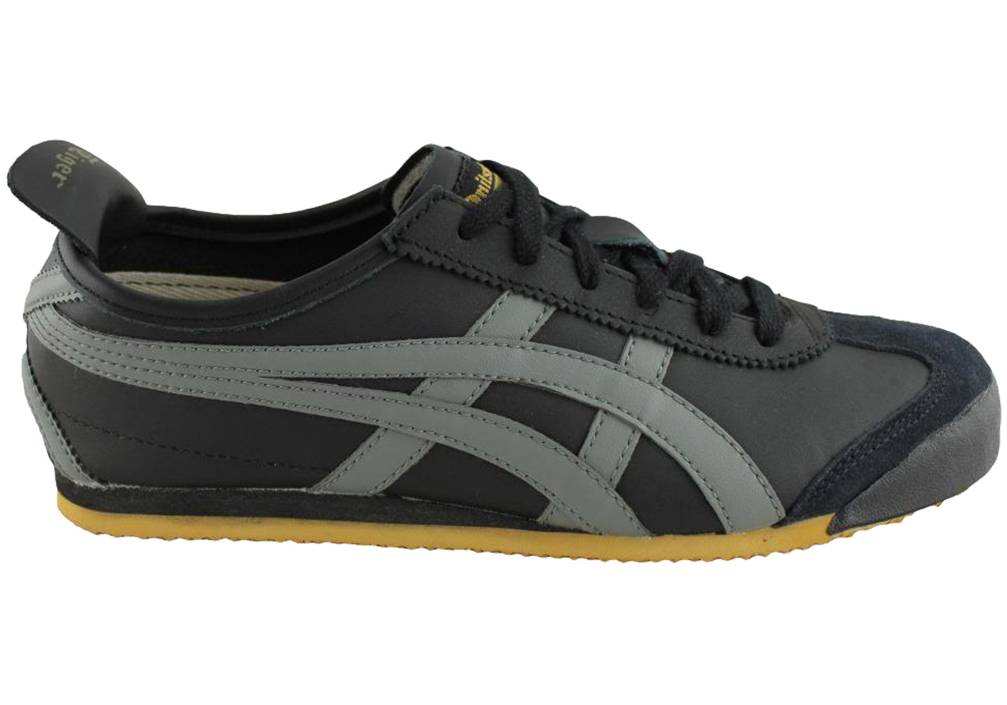asics onitsuka tiger mexico 66 black grey gold