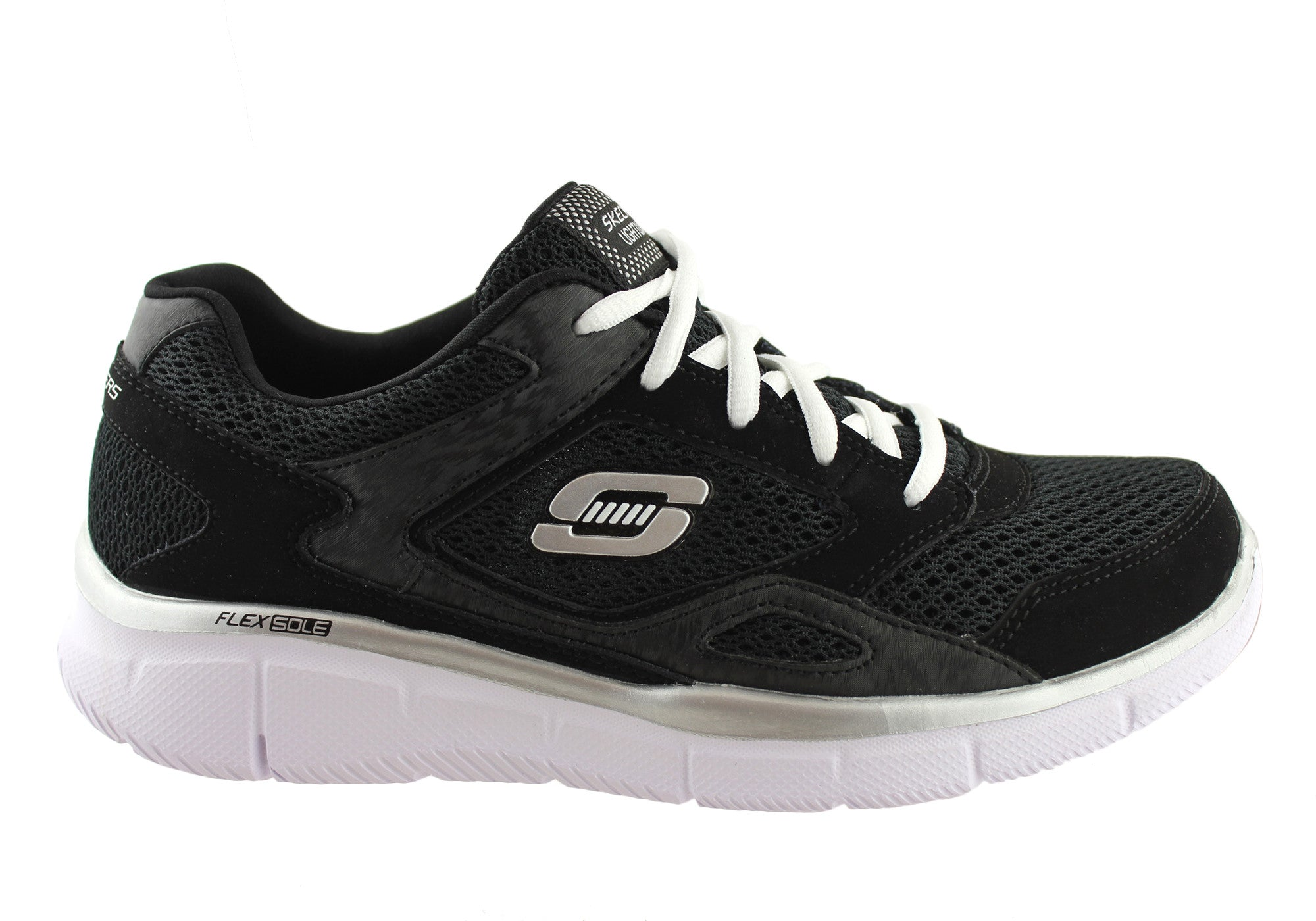 200b86ec1622 Skechers Equalizer Lace Up Kids Boys Sneakers Trainer Sport Shoes ...
