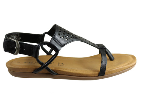 Gino Ventori Rotor Womens Comfortable Leather Sandals Made In Brazil