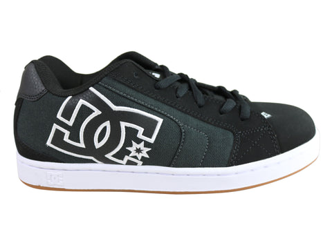 DC Net Se Mens Durable Lace Up Skate Board Shoes