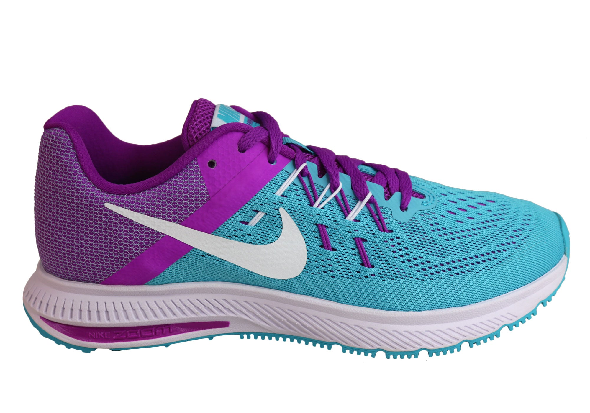 online retailer a6b3e cd521 Home Womens Nike Zoom Winflo 2 Running Sport Shoes. Gamma Blue Violet ...