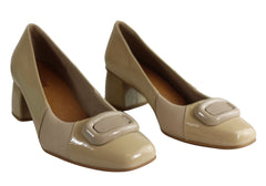 Usaflex Ester Womens Comfortable Mid Heel Pumps Made In Brazil