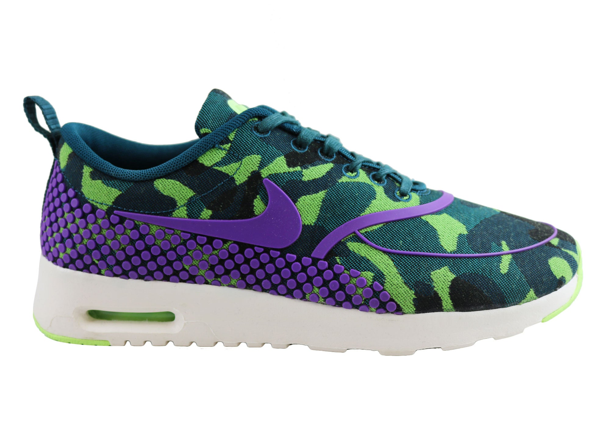 sports shoes 54c86 ef1a0 Home Nike Womens Air Max Thea Jcrd Prm Running Shoes. Purple  ...