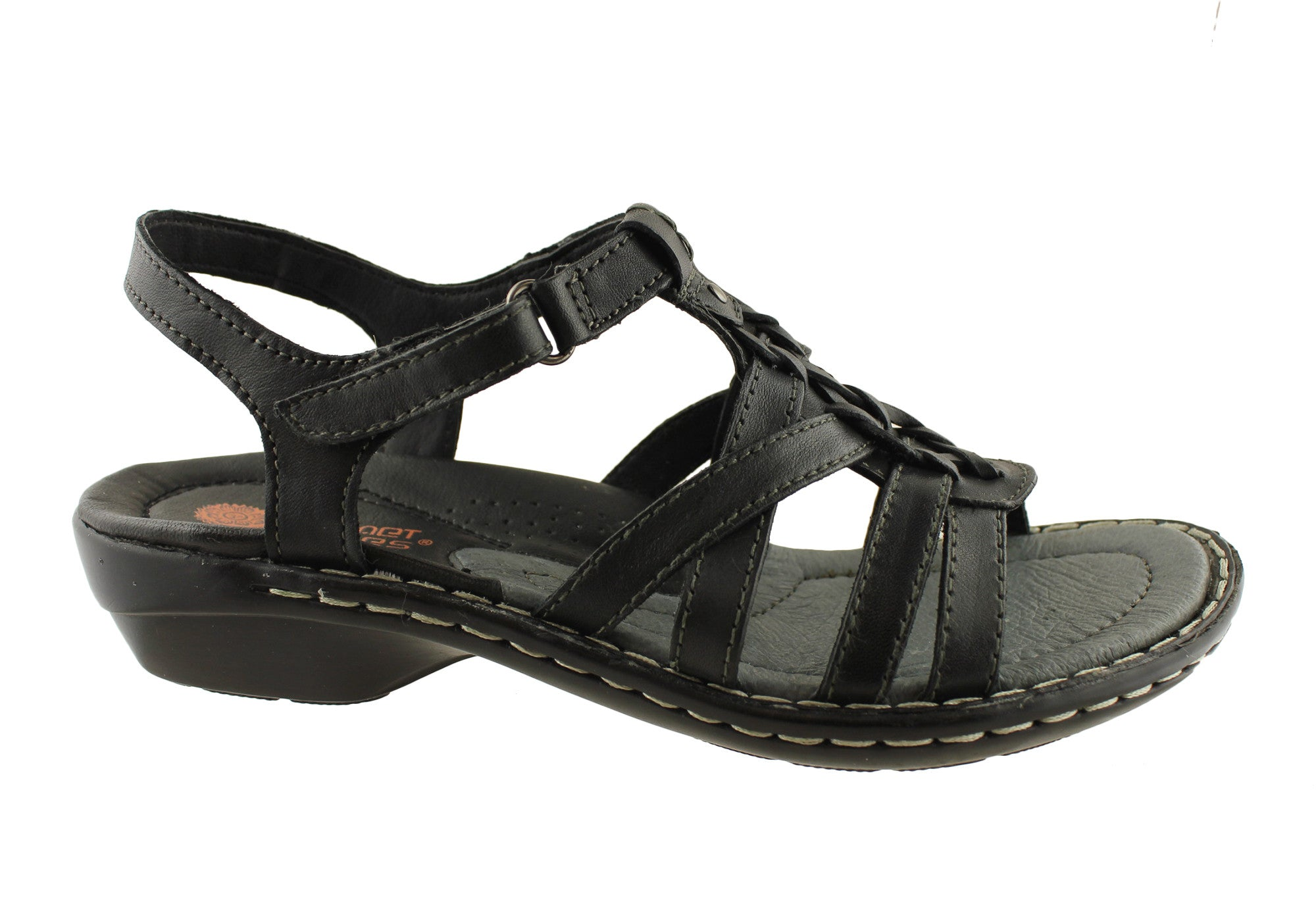 Planet Shoes Ancor Womens Leather Comfort Sandals Cushioned With Arch Support | eBay