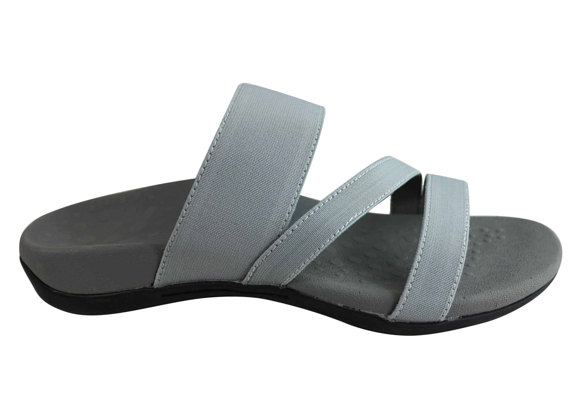 NEW SCHOLL ORTHAHEEL ABYSS WOMENS COMFORT ORTHOTIC SANDAL SLIDES