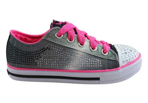 Skechers Girls Kids S Lights Chit Chat Electro Spark