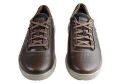 Rockport Mens City Edge Ubal Plain Toe Wide Fit Leather Comfort Shoes