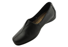 Cushion Comfort Mary Womens Leather Shoes