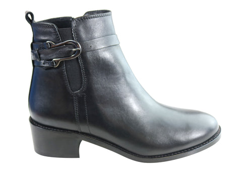 Orizonte Augustine Womens European Comfortable Leather Ankle Boots
