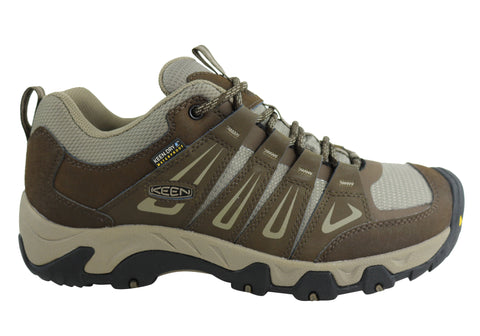 Keen Oakridge WP Waterpoof Comfortable Mens Wide Fit Hiking Shoes