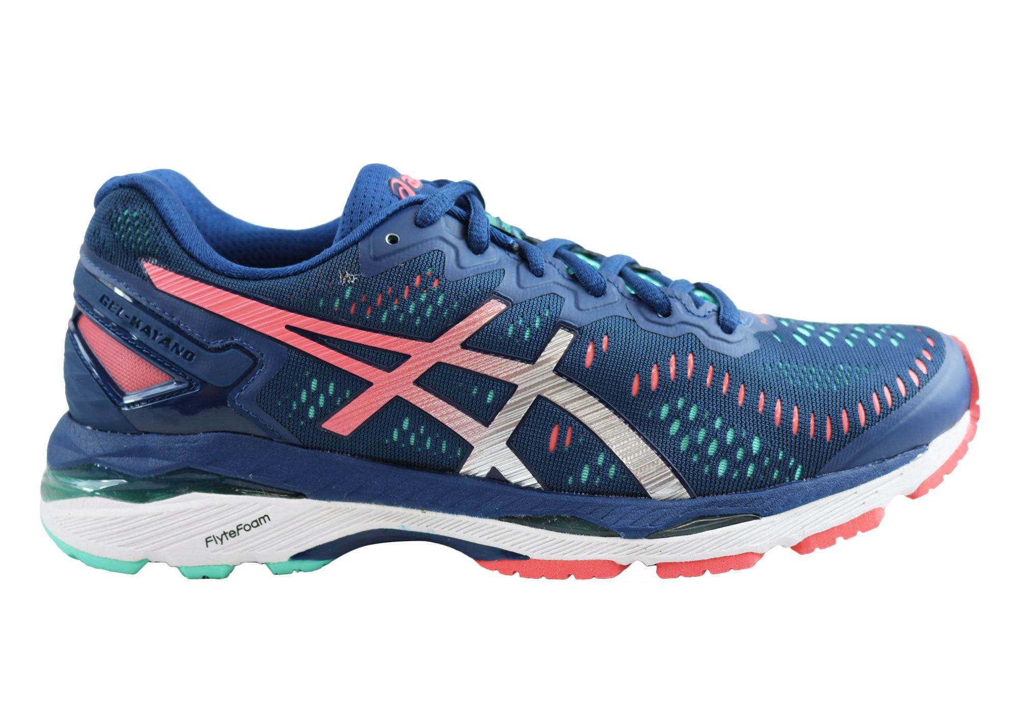 pretty nice b5671 0d961 Details about NEW ASICS GEL KAYANO 23 WOMENS PREMIUM CUSHIONED RUNNING  SPORT SHOES
