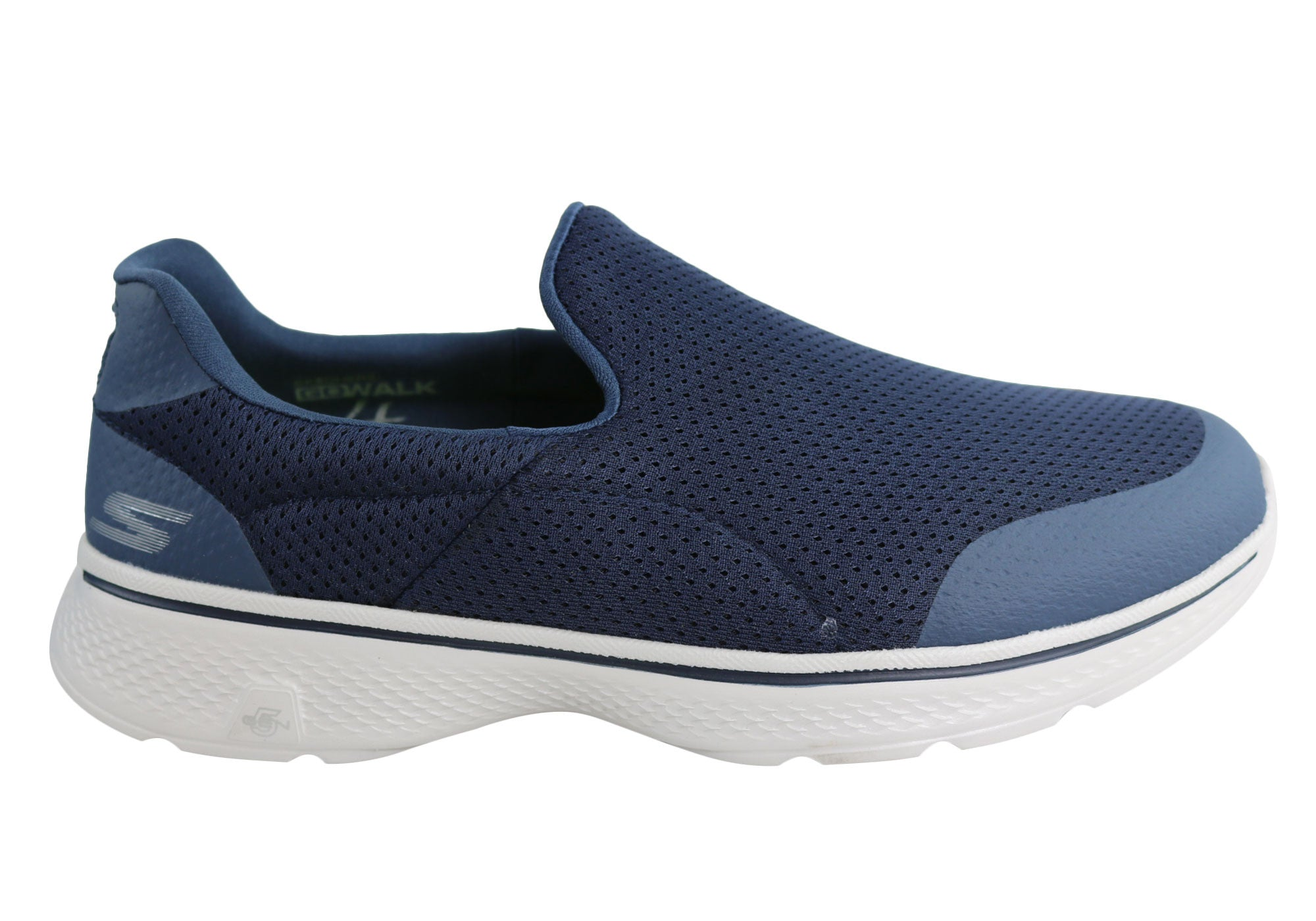 8bef4024d76b Home Skechers Go Walk 4 Incredible Mens Comfortable Casual Shoes. Navy  ...