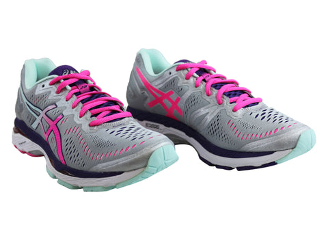 sneakers for cheap 95f13 bb45a Asics Gel Kayano 23 Womens Premium Cushioned Running Sport ...