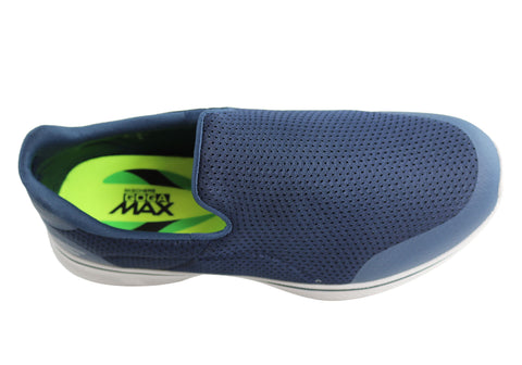 3a507fd62226 Skechers Go Walk 4 Incredible Mens Comfortable Casual Slip On Shoes ...