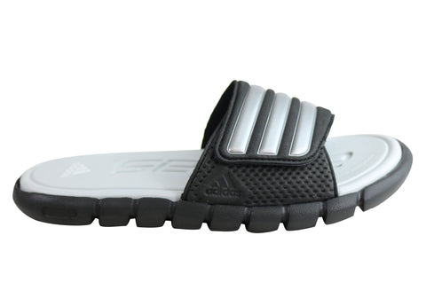 Adidas Womens Comfortable Cushioned Slide Sandals