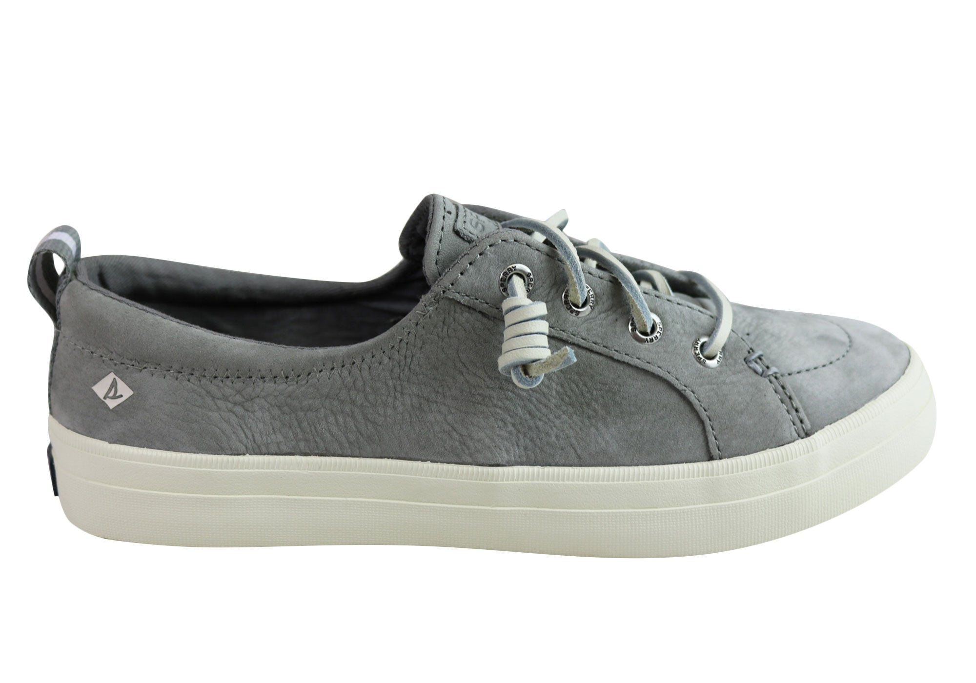 56ca1c2230182 Sperry Womens Comfortable Fashion Crest Vibe Washable Leather Sneakers