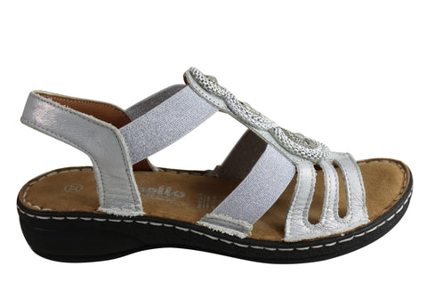 Cabello Comfort CP402-16 Womens European Leather Comfortable Sandals