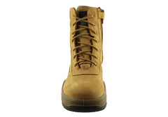 Mongrel 251050 Side Zip Mens Steel Cap High Leg Zipsider Boots