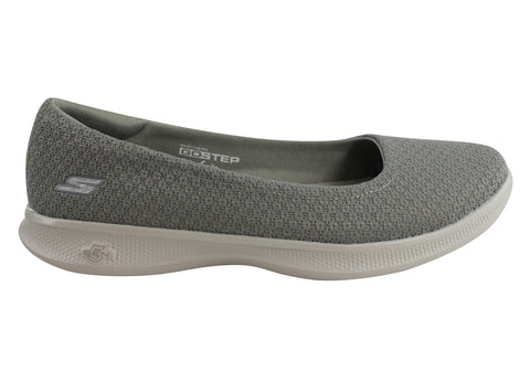 Skechers Go Step Lite Enchanted Womens Comfort Ballet Flats