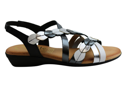 Cabello Comfort 679 Womens Leather Sandals Made In Spain