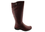 Planet Shoes Spire 2 Womens Comfortable Leather Flat Knee High Boots