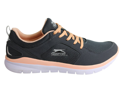 Slazenger Bolt Womens Lightweight Cushioned Lace Up Sport Shoes