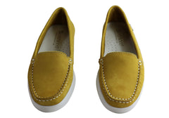 Andacco Amore Womens Comfortable Flat Leather Loafers Made In Brazil