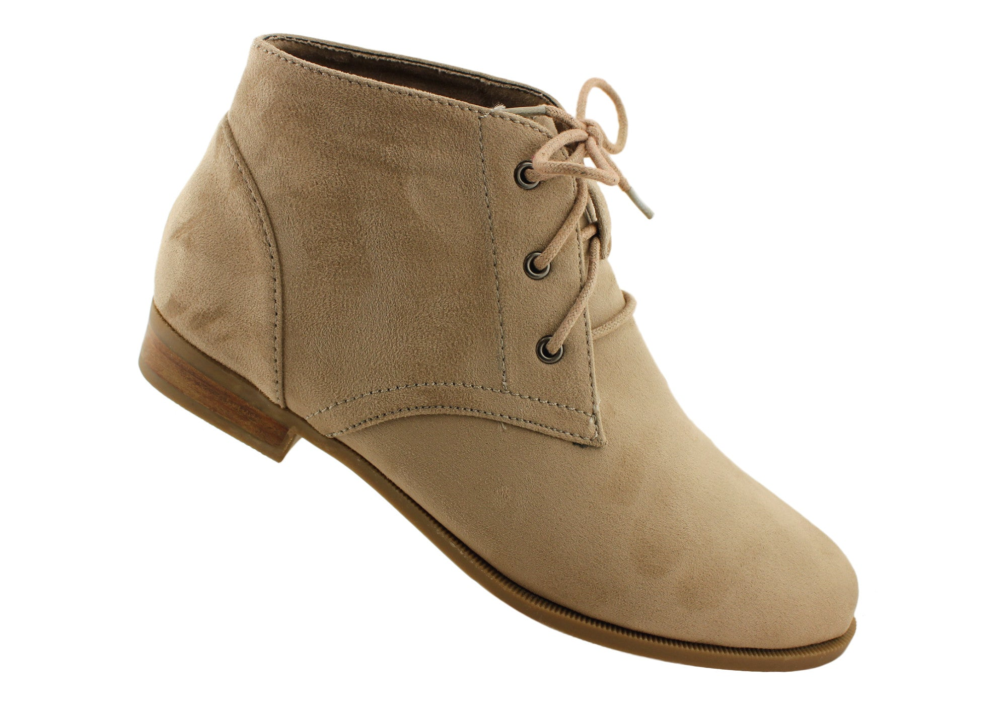 Ankle Boots Without Heel - Boot Yc