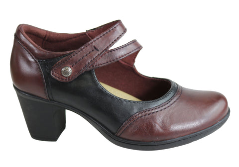 Planet Shoes Base Womens Comfortable Leather Mid Heel Shoes