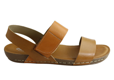 Andacco Mira Womens Comfortable Leather Sandals Made In Brazil