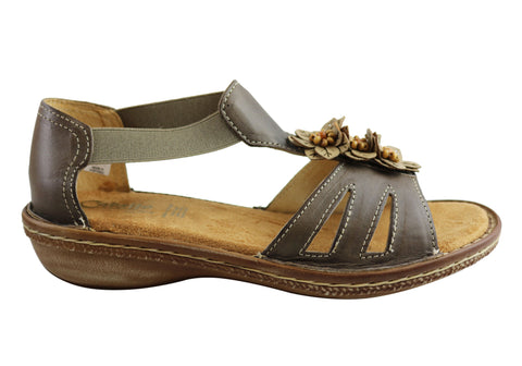 Cabello Comfort 4032 Womens Leather Sandals Made In Portugal