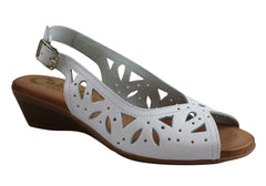 Cabello Comfort 3527 Womens Leather Sandals Made In Spain