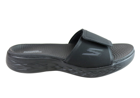 Skechers On The Go 600 Regal Mens Comfortable Cushioned Slide Sandals