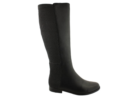 Magnini Helen Womens Wide Calf Knee High Boots