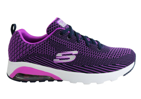 Skechers Womens Air Extreme Awaken Lace Up Sport Shoes
