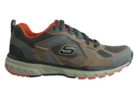 Skechers Geo Trek Pro Force Mens Athletic Trail Walking Shoes