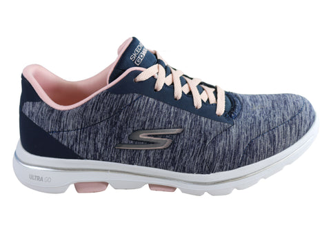 Skechers Womens Go Walk 5 True Comfortable Athletic Shoes