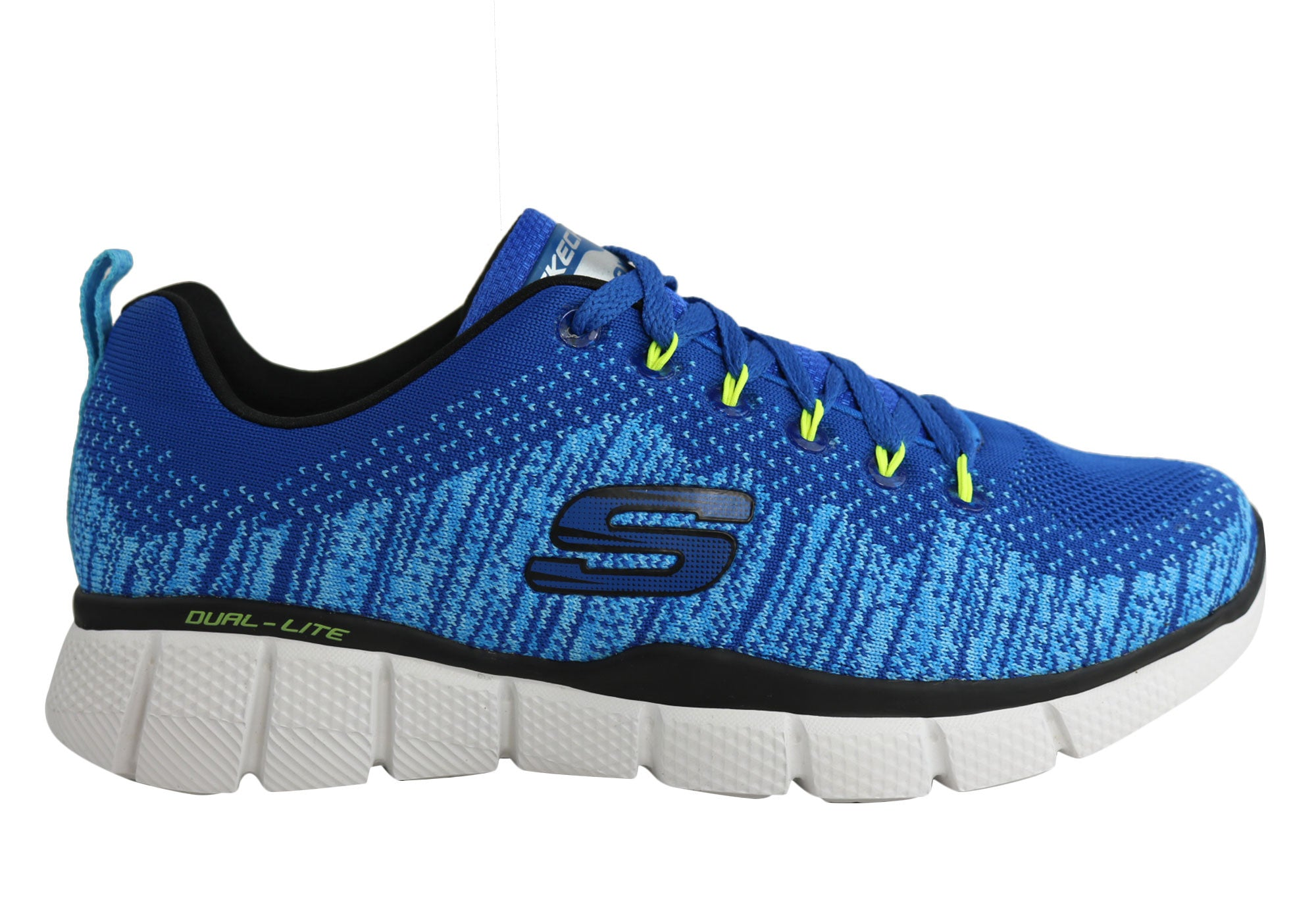 57ae62307447 Home Skechers Equalizer 2.0 Equal Game Mens Memory Foam Shoes. Blue  ...