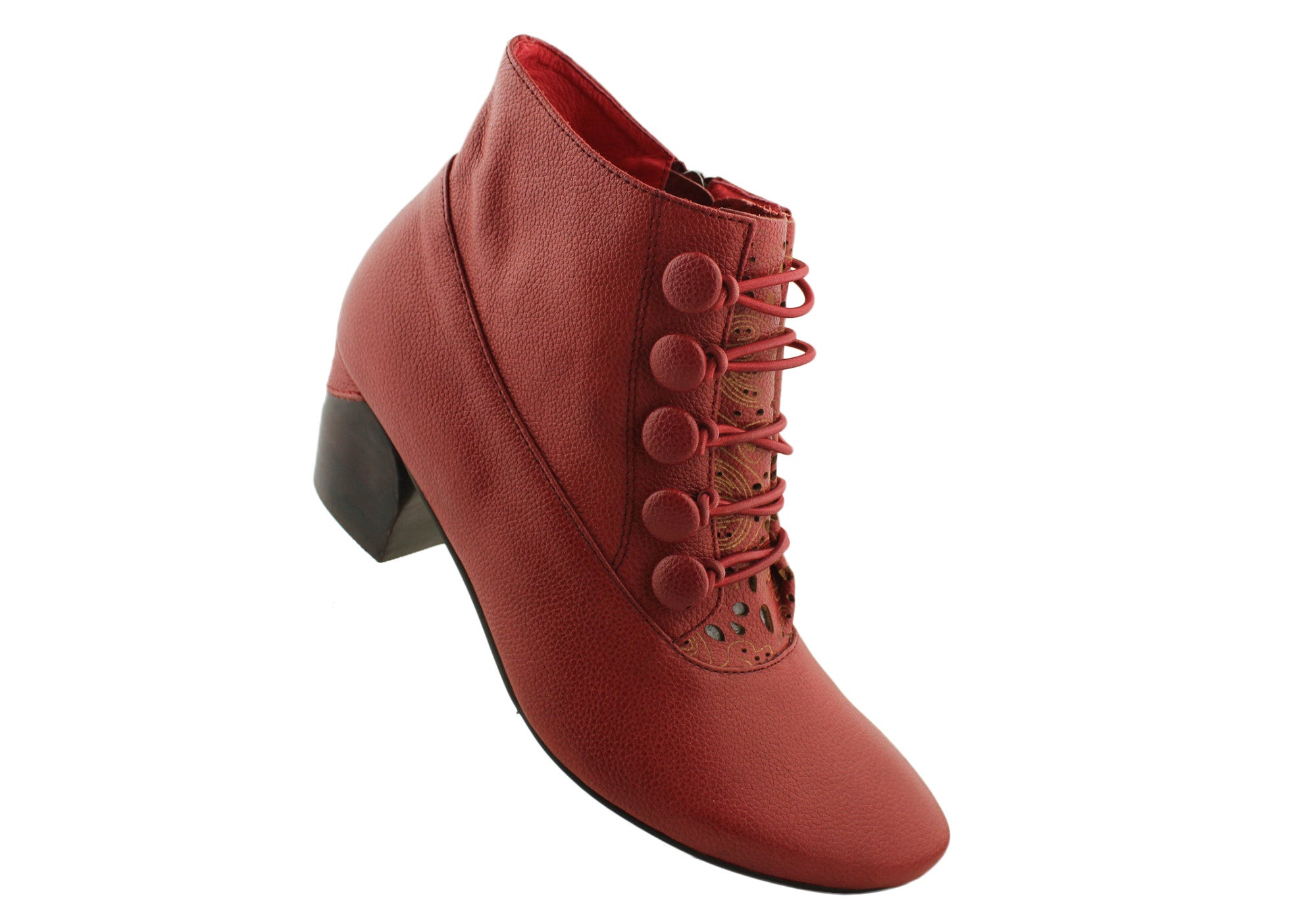 Christiano Bellaria Design Unity2 Womens Leather Ankle Boots
