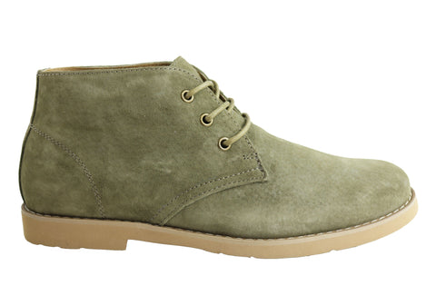 Hush Puppies Delphine Womens Suede Lace Up Boots