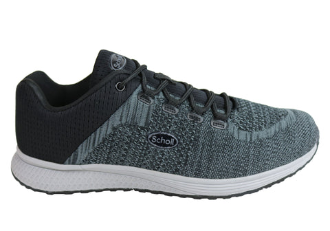 Scholl Orthaheel Empire Mens Comfortable Supportive Active Shoes
